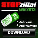 StopZilla the ultimate line of protection against malware and viruses